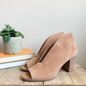 Lucky brand suede joal shooties